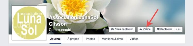 Page Facebook LunaSol Clisson