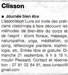 Ouest France, juillet 2014